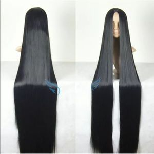 Accessories - 30'+ Black Cosplay Wig